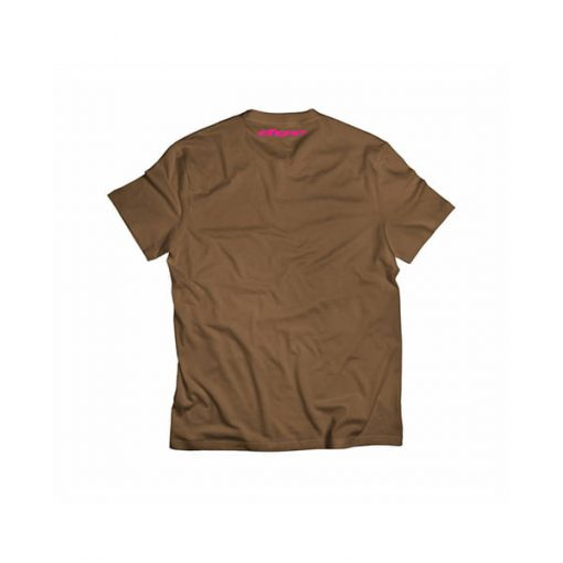 camiseta-t-shirt-dye-logo-brown-pink-back-paintball-store-paintball-online-paintballonline-loja-de-paintball